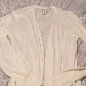 Viscose Linen sweater cardigan